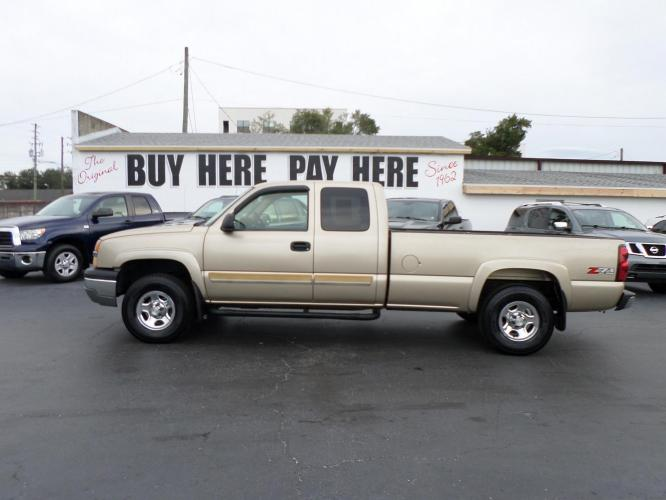 2004 Chevrolet Silverado 1500 Ext. Cab Long Bed 4WD