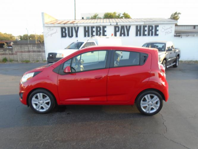 2014 Chevrolet Spark LS Auto (KL8CB6S9XEC) with an 1.2L L4 16V DOHC engine, Continuously Variable Transmission transmission, located at 6112 N Florida Avenue, Tampa, FL, 33604, (888) 521-5131, 27.954929, -82.459534 - Photo #0