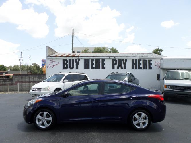 2013 Hyundai Elantra Limited (5NPDH4AEXDH) with an 1.8L L4 DOHC 16V engine, 6-Speed Automatic transmission, located at 6112 N Florida Avenue, Tampa, FL, 33604, (888) 521-5131, 27.954929, -82.459534 - Photo #0