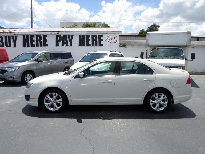 2012 Ford Fusion SE (3FAHP0HA6CR) with an 2.5L L4 DOHC 16V engine, located at 6112 N Florida Avenue, Tampa, FL, 33604, (888) 521-5131, 27.954929, -82.459534 - Photo #0