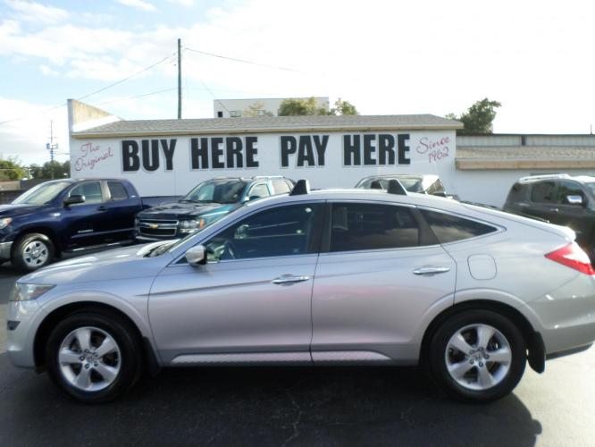 2010 Honda Accord Crosstour EX 2WD 5-Spd AT (5J6TF1H3XAL) with an 3.5L V6 SOHC 24V engine, 5-Speed Automatic transmission, located at 6112 N Florida Avenue, Tampa, FL, 33604, (888) 521-5131, 27.954929, -82.459534 - Photo #0