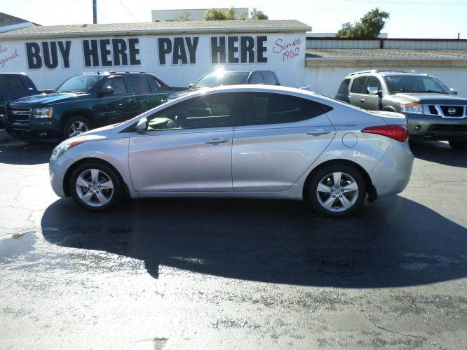 2013 Hyundai Elantra Limited (5NPDH4AE9DH) with an 1.8L L4 DOHC 16V engine, 6-Speed Automatic transmission, located at 6112 N Florida Avenue, Tampa, FL, 33604, (888) 521-5131, 27.954929, -82.459534 - Photo #0