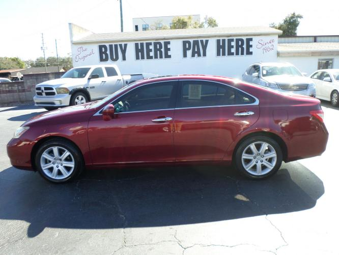 2009 Lexus ES 350 Sedan (JTHBJ46GX92) with an 3.5L V6 DOHC 24V engine, 6-Speed Automatic Overdrive transmission, located at 6112 N Florida Avenue, Tampa, FL, 33604, (888) 521-5131, 27.954929, -82.459534 - Photo #0