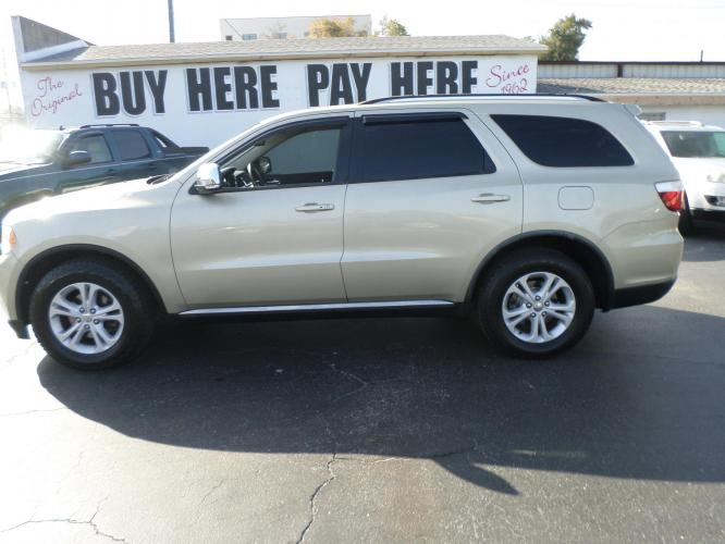 2011 Dodge Durango Crew 2WD (1D4SD4GT6BC) with an 5.7L V8 OHV 16V engine, located at 6112 N Florida Avenue, Tampa, FL, 33604, (888) 521-5131, 27.954929, -82.459534 - Photo #0