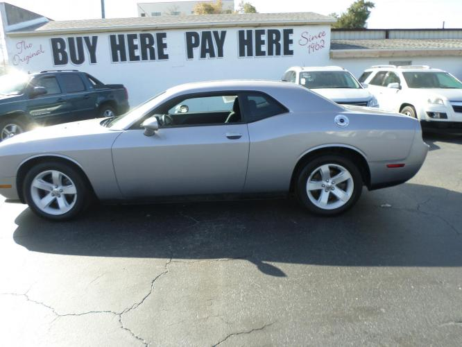 2014 Dodge Challenger SXT (2C3CDYAG1EH) with an 3.6L V6 DOHC 24V engine, 5-Speed Automatic transmission, located at 6112 N Florida Avenue, Tampa, FL, 33604, (888) 521-5131, 27.954929, -82.459534 - Photo #0