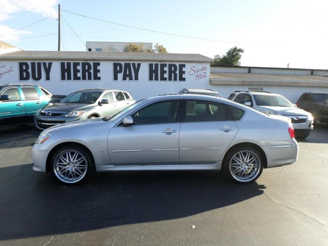 2008 Infiniti M 35 AWD (JNKAY01F08M) with an 3.5L V6 DOHC 24V engine, 5-Speed Automatic Overdrive transmission, located at 6112 N Florida Avenue, Tampa, FL, 33604, (888) 521-5131, 27.954929, -82.459534 - Photo #0