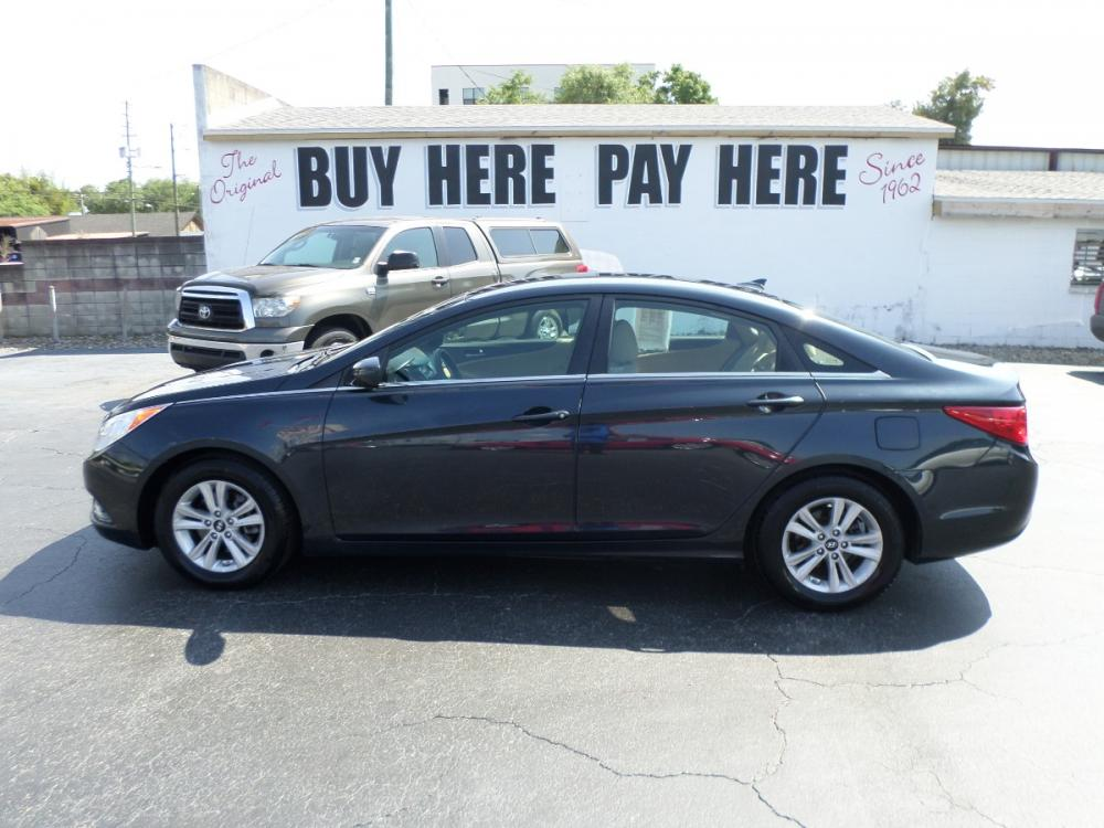 2012 Hyundai Sonata GLS Manual (5NPEB4AC3CH) with an 2.4L L4 DOHC 16V engine, 6-Speed Manual transmission, located at 6112 N Florida Avenue, Tampa, FL, 33604, (888) 521-5131, 27.954929, -82.459534 - Photo #0