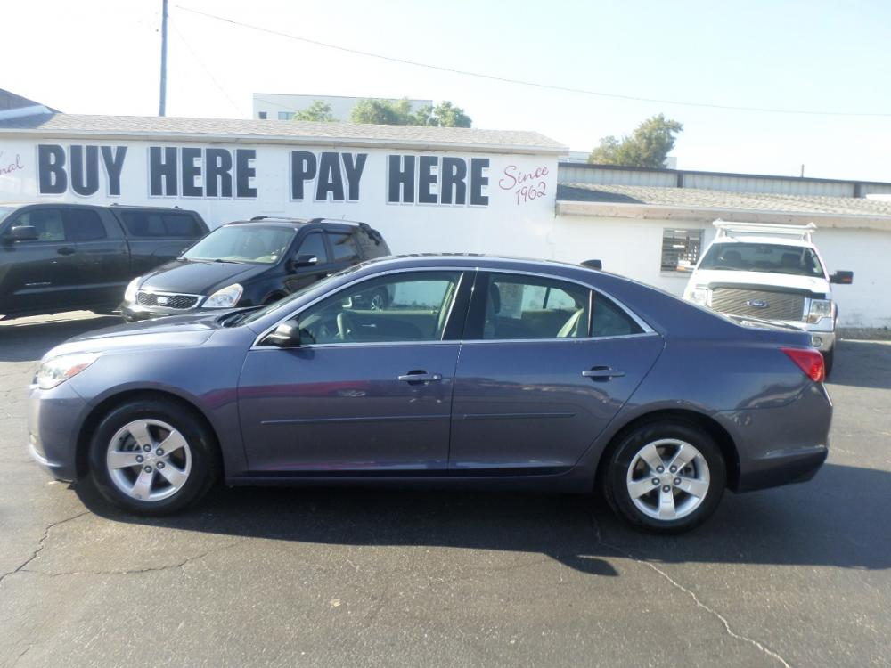2014 Chevrolet Malibu LS (1G11B5SL8EF) with an 2.5L L4 DOHC 16V engine, 6-Speed Automatic transmission, located at 6112 N Florida Avenue, Tampa, FL, 33604, (888) 521-5131, 27.954929, -82.459534 - Photo #0